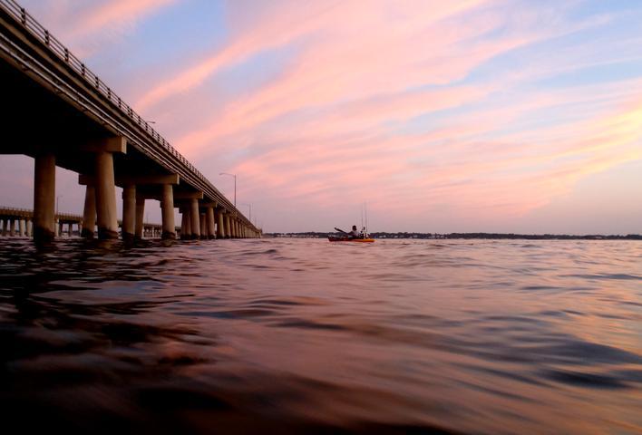 Kayak fishing kayak fishing chesapeake bay dvds kayak for Lynnhaven inlet fishing report